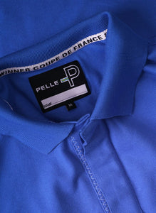 Pelle P Men's Team Polo in Lapis