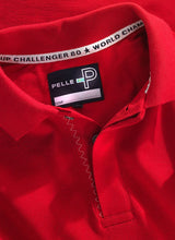 Load image into Gallery viewer, Pelle P Men's Team Polo in Race Red