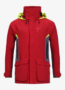 Pelle P Men's Tactic Race Jacket - Flame Red