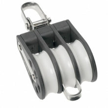 Load image into Gallery viewer, Barton Plain Bearing Block Triple Size 2 (35mm) - Swivel