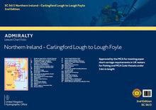 Load image into Gallery viewer, SC5612 Northern Ireland - Carlingford Lough to Lough Foyle (3rd Edition)