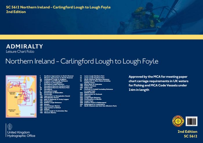 SC5612 Northern Ireland - Carlingford Lough to Lough Foyle (3rd Edition)