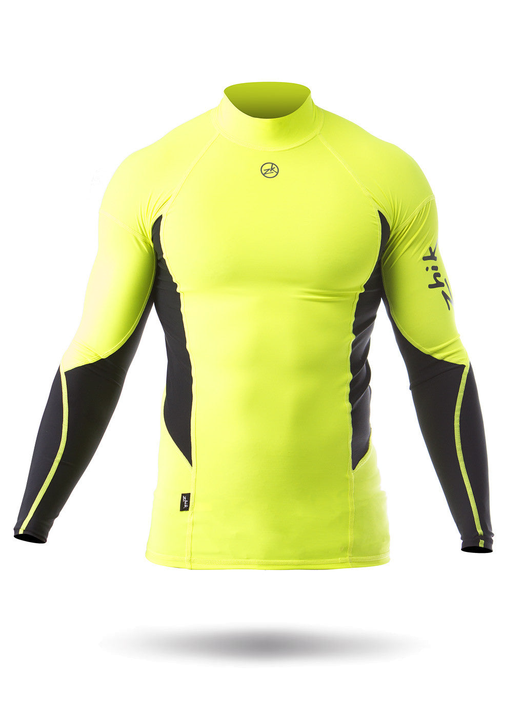 Zhik Men's Long Sleeve Spandex Top in HiVis