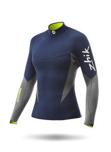 Zhik Womens Superwarm V Top - Navy Blue