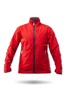 Zhik Womens Z-Cru Jacket Flame Red