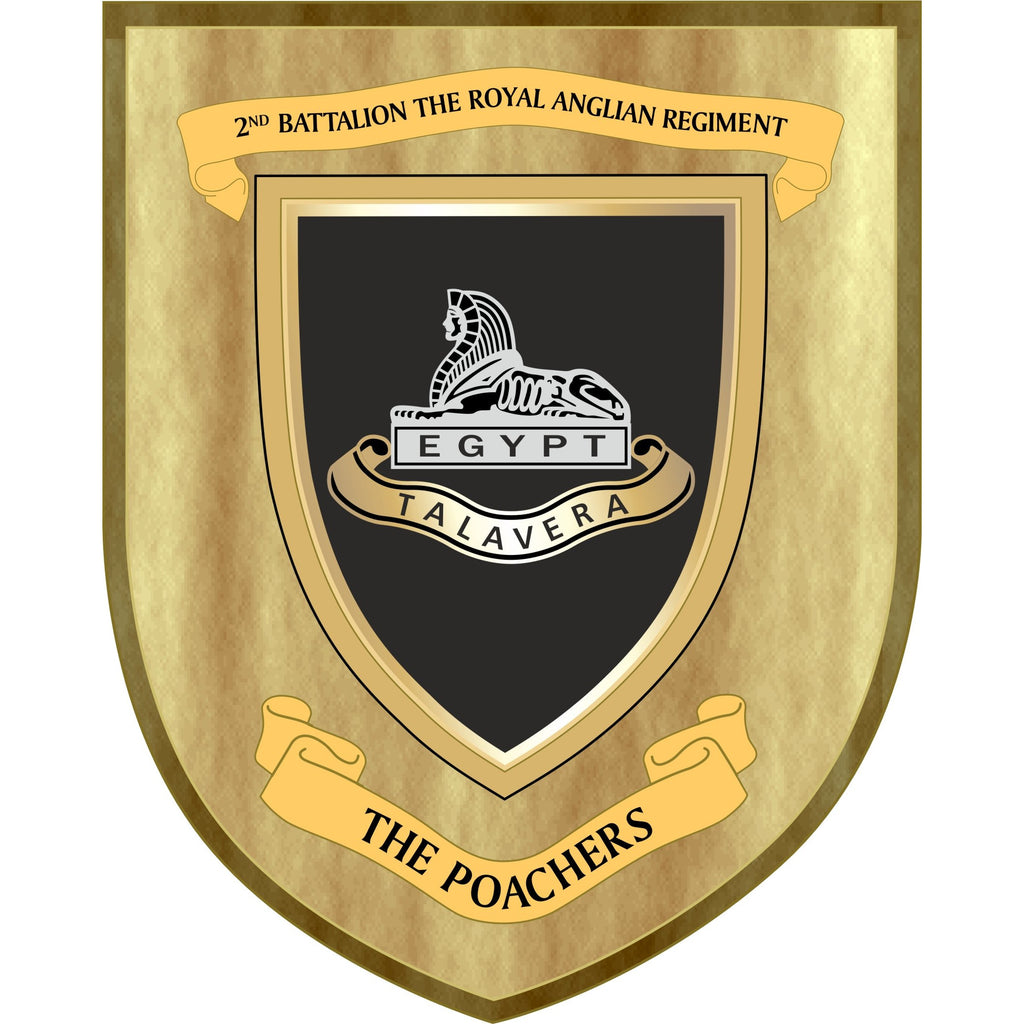 The Royal Anglian 2nd Battalion