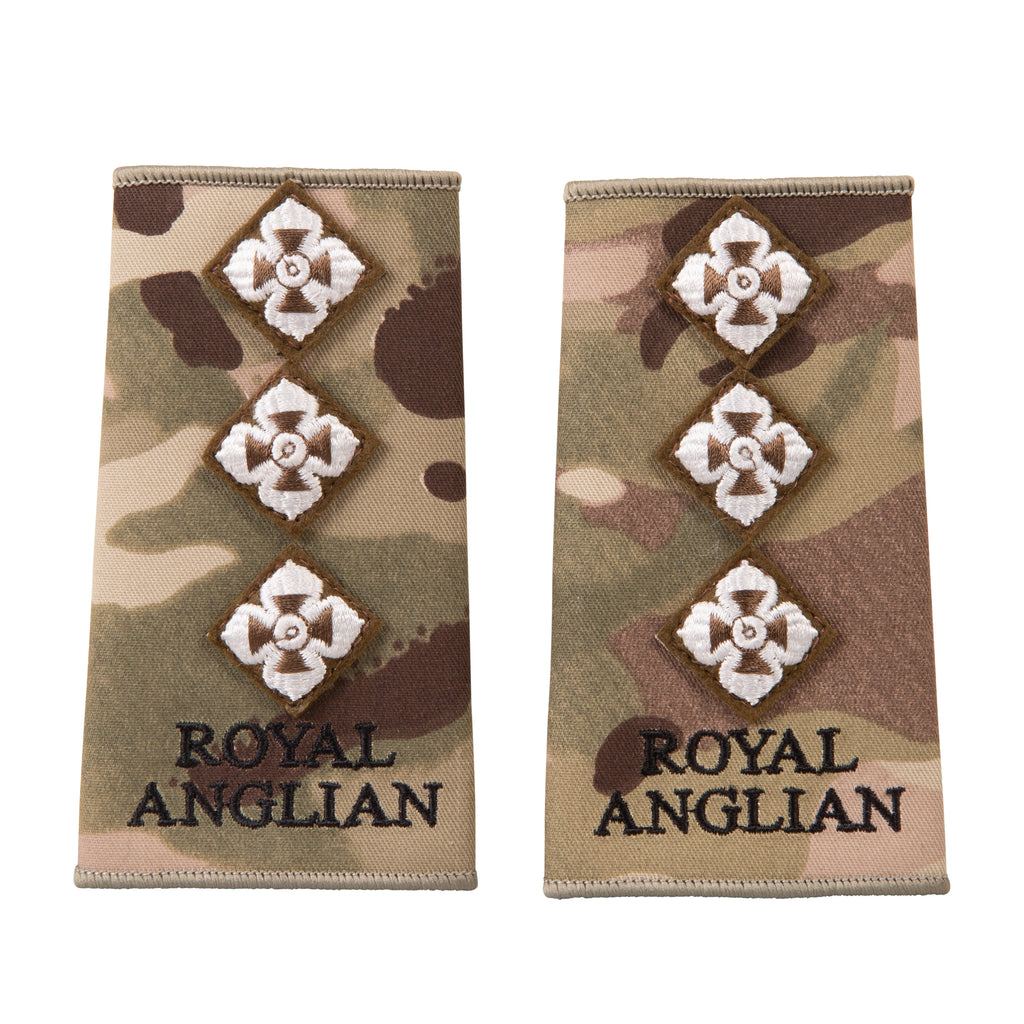 Royal Anglian Rank Slides Officers - MTP