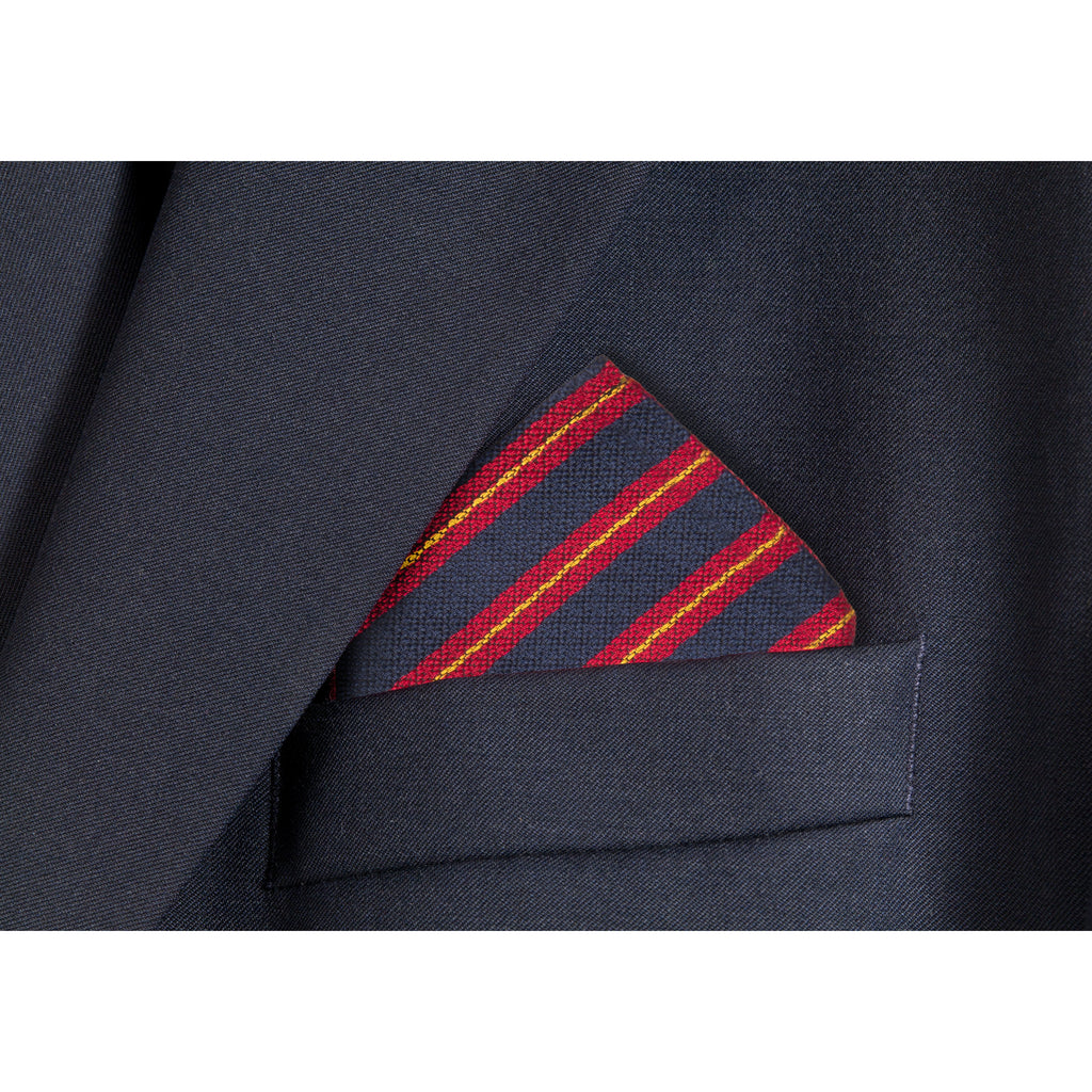 Regimental Hanky Pocket Square