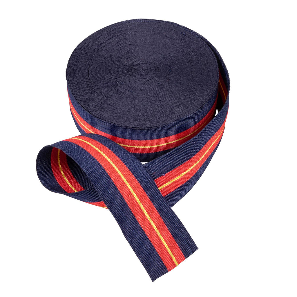 Royal Anglian Regimental Ribbon- 38mm - Sold by the metre