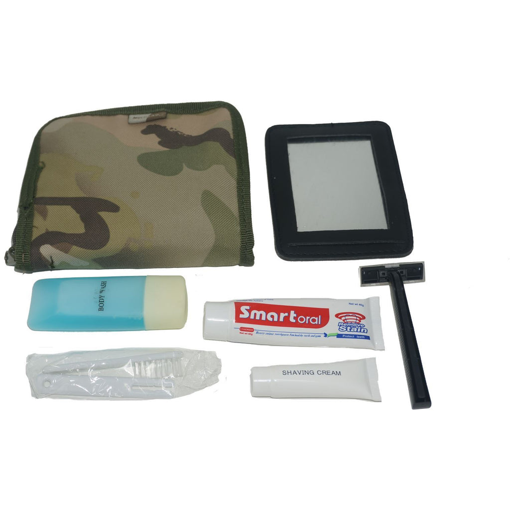 Web-Tex Multicam Wash Kit inc. Toiletries