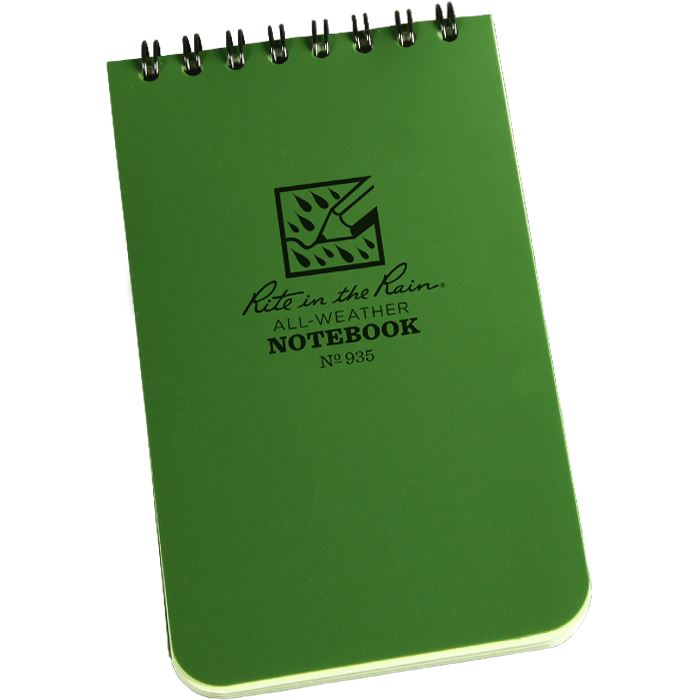 Rite in the Rain Pocket Notebook 4 x 6 - Green