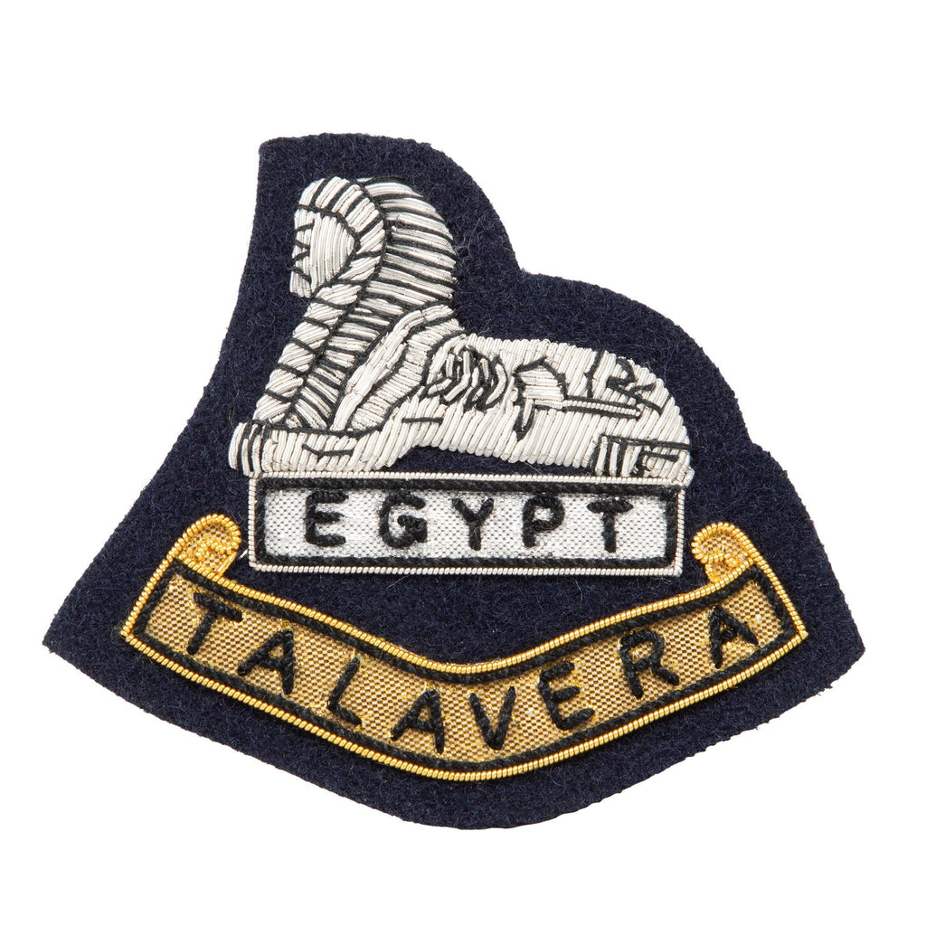 2nd Bn - Blazer Badge B/W