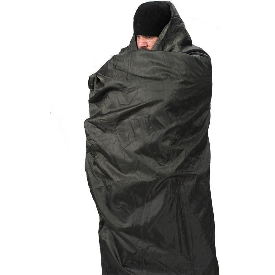 Insulated Jungle Travel Blanket Black