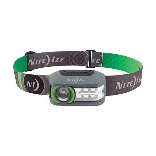Niteize Radiant® 250 Rechargeable Headlamp (Black/Grey)