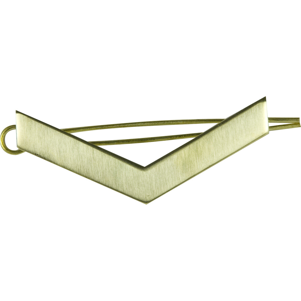 L/Cpl Brass Chevron with Shanks