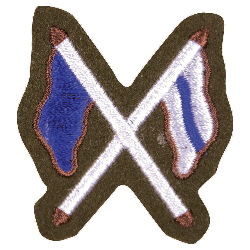 No2 Dress - Trade Badge - Signaller (X Flags)