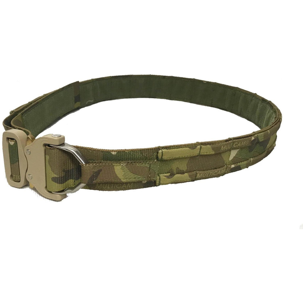 Crye Multicam Cobra D-Ring MOLLE Shooters Belt - 45mm