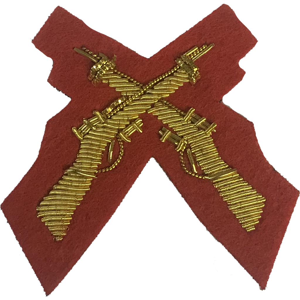 Mess Dress- Qualification Badge - Skill-At-Arms (X Rifles)