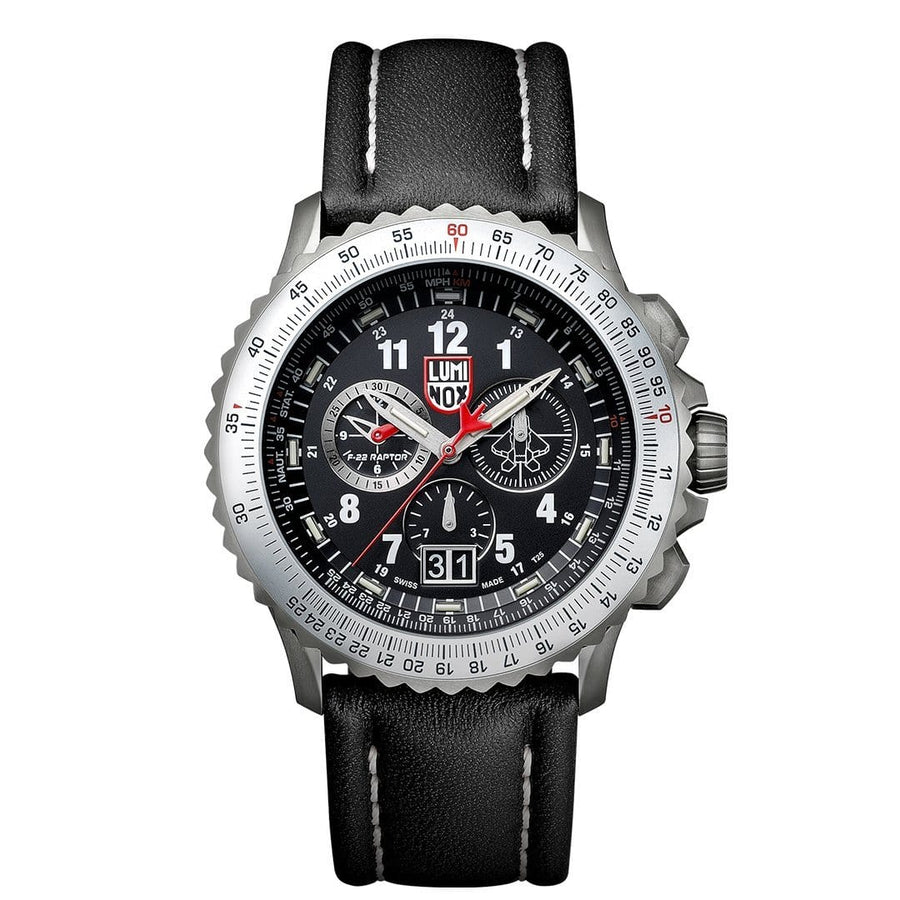F-22 Raptor, 44 mm, Fliegeruhr / Chronograph - 9241, 1