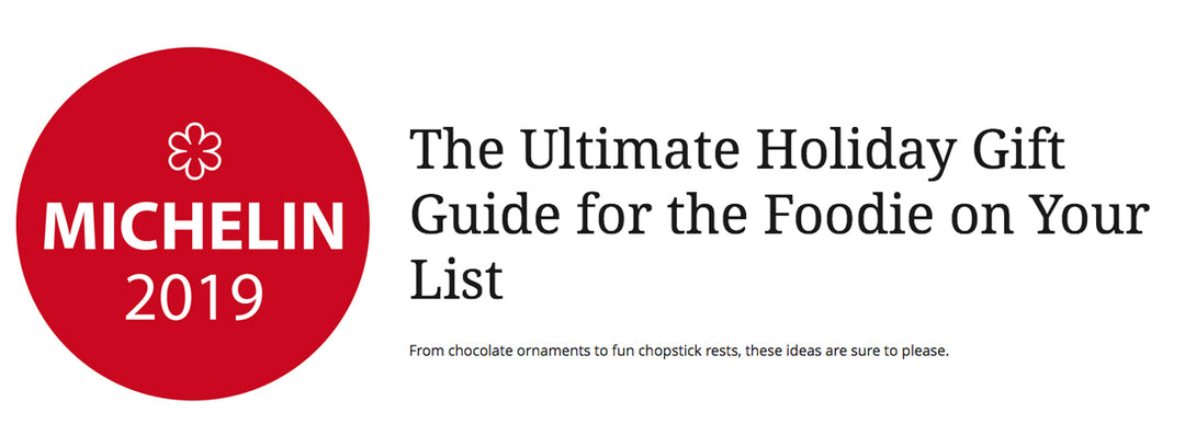 Michelin Guide - The Ultimate Holiday Gift Guide for the Foodie on Your List