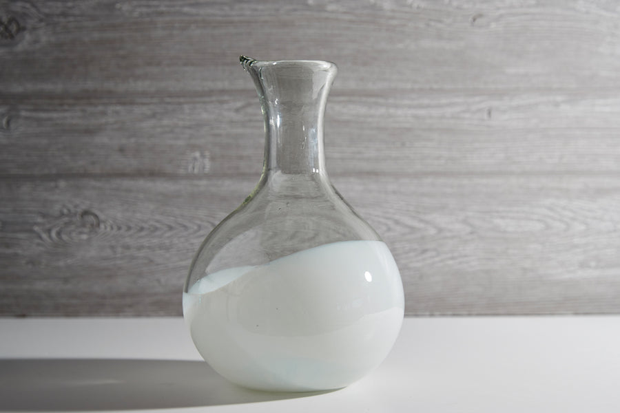 Handblown Glass Carafe