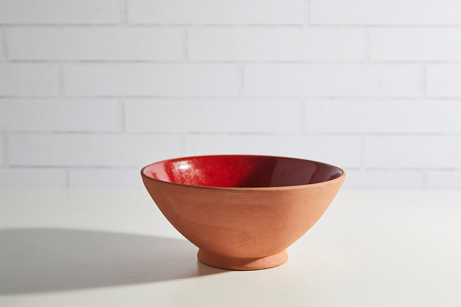 Moroccan Terracotta Serving Bowls
