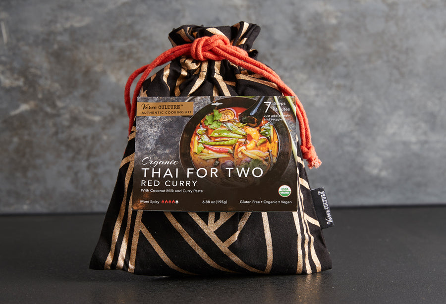 Thai for Two - Organic Red Curry Kit