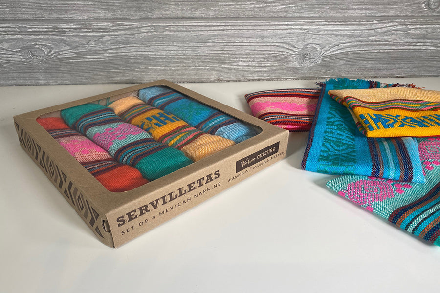 Servilletas - Set of 4 Mexican Napkins