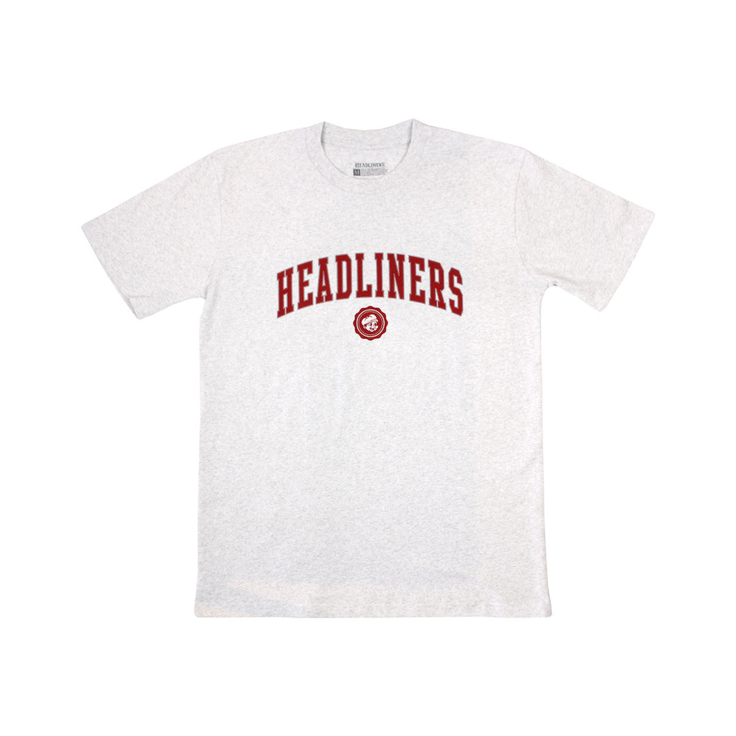 Headliners Collegiate Tee - White Heather