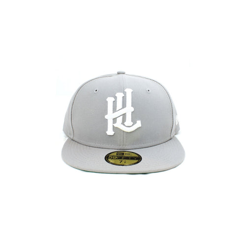 HL Monogram New Era 59Fifty Fitted - Grey