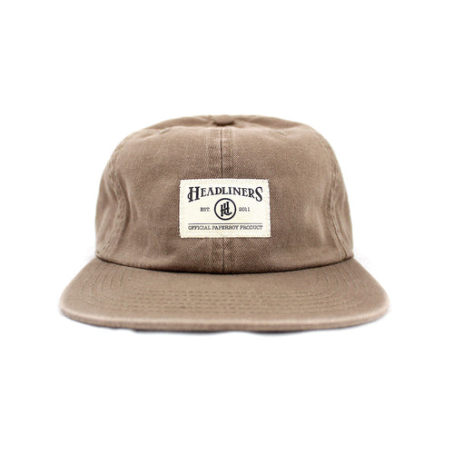 OPP Unstructured Strapback - Coffee