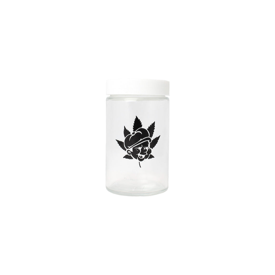Paperboy Glass Jar