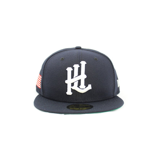 HL Monogram USA New Era 59Fifty Fitted - Navy