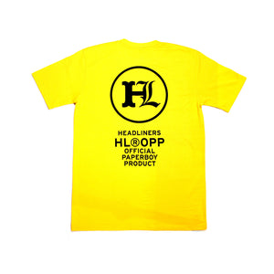 OPP Tee - Yellow / Black