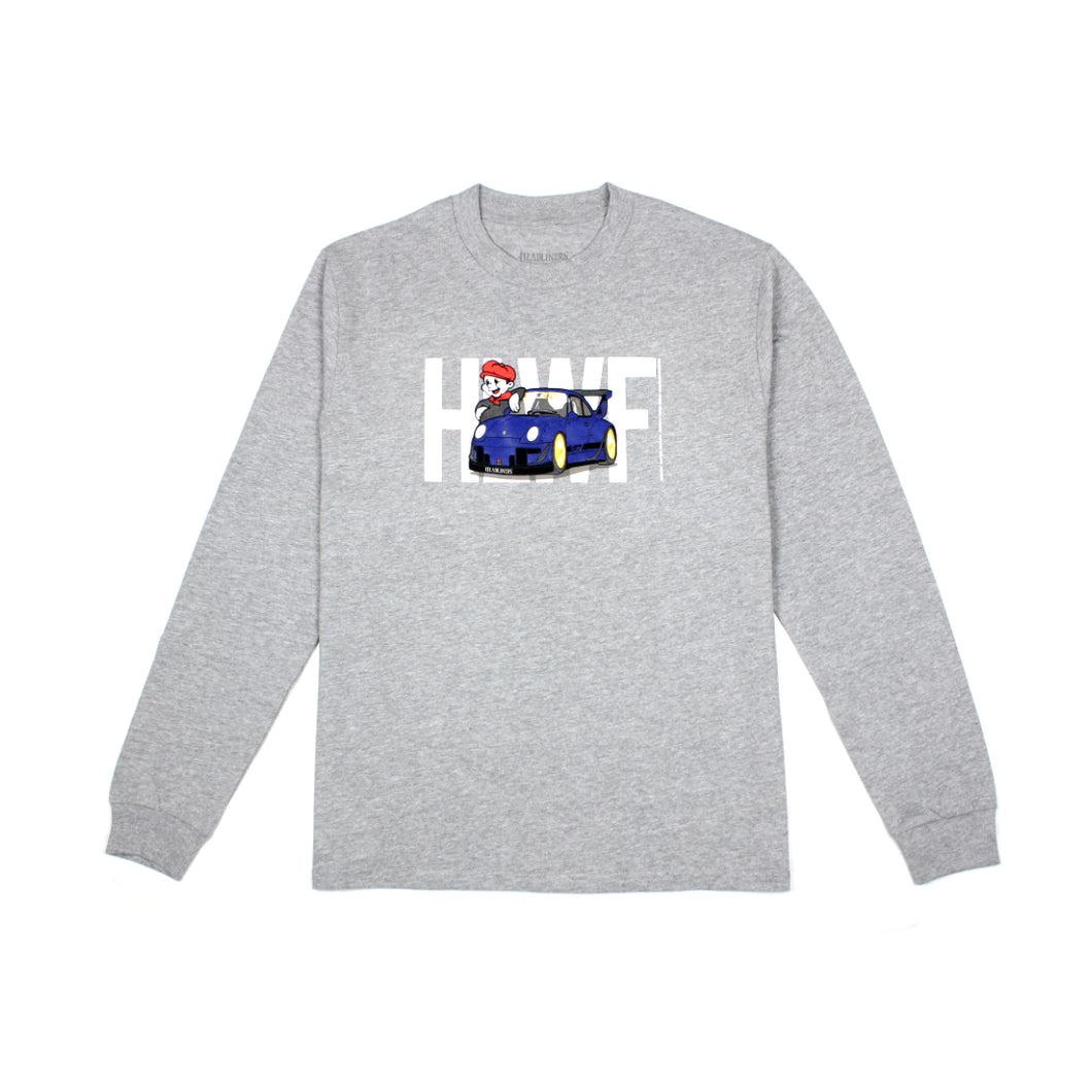 Headliners x Wekfest Longsleeve - Heather