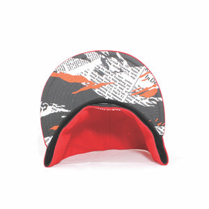 Newspaper Camo HL Monogram New Era 59Fifty Fitted