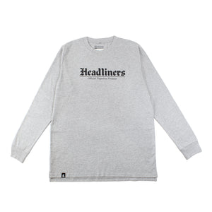 Newspaper Long Sleeve