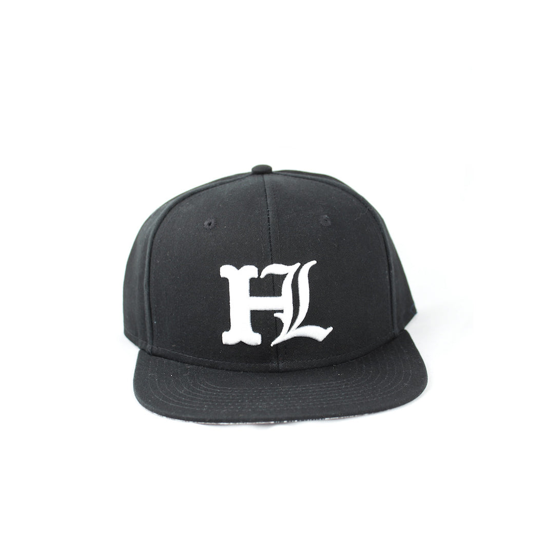 New English HL Snapback - Black