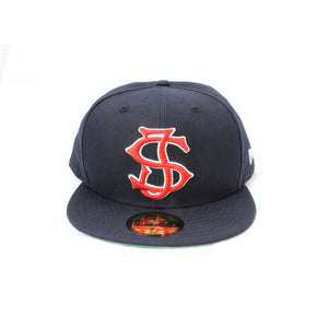 SJ Monogram New Era 59Fifty Fitted - Navy