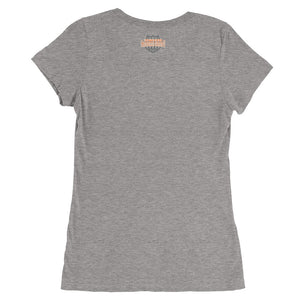Ladies' Short Sleeve V-Neck- #50-20-5-1