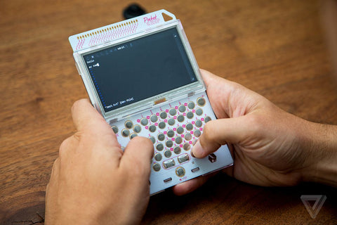Pocket CHIP handheld device