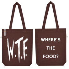 Tote bag WHERE'S THE FOOD?