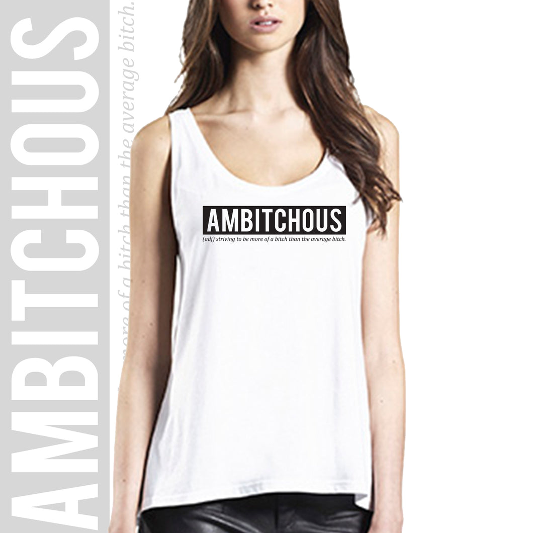 Loose fit tank top AMBITCHOUS
