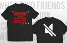 T-shirt Genuine friendship