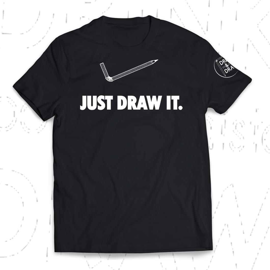 T-shirt JUST DRAW IT