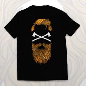 T-shirt Wear a beard