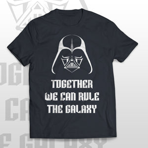 T-shirt TOGETHER WE CAN RULE THE GALAXY