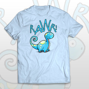 Kids T-shirt Friendly Dino - Rawr! means I love you