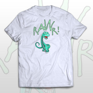 Kids T-shirt Happy Dino - Rawr! means I love you