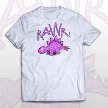 Dinosaur fan T-shirt Humble Dino - Rawr! means I love you